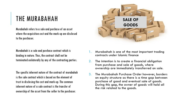 financing murabahah islamic bankers resource centre