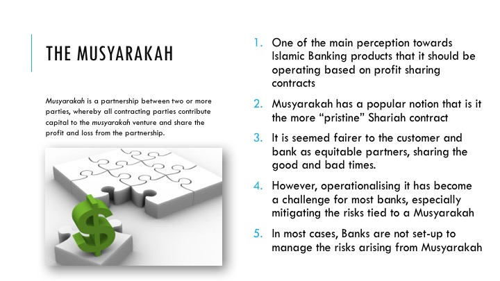 Financing Musharaka Islamic Bankers Resource Centre