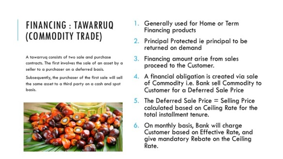 Financing Tawarruq